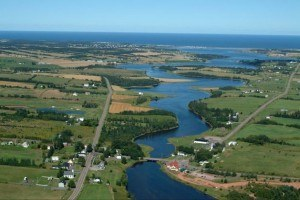 New Glasgow, PEI and area - Aerial Photo
