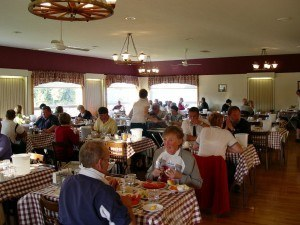 The Clyde Room, main dining room