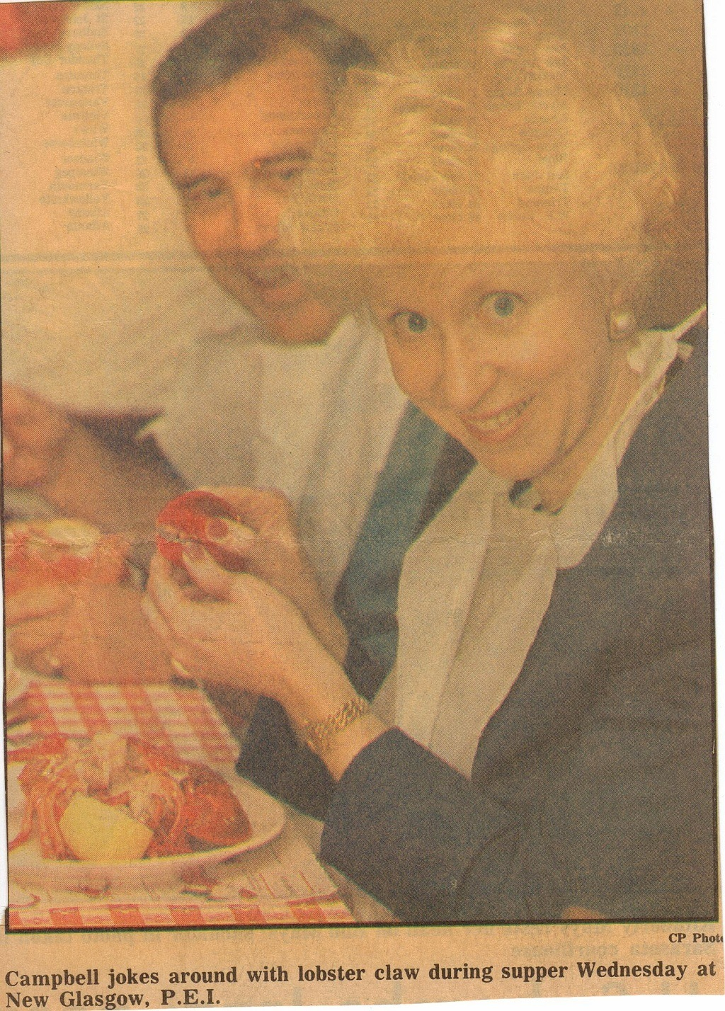 kim campbell as the first female prime minister of canada The fact that canada did it first back in 1993 we tend to forget about her, but kim  campbell is actually pretty awesome she's been out  march 21, 2017 tags:  canada kim campbell prime minister twitter video your morning.
