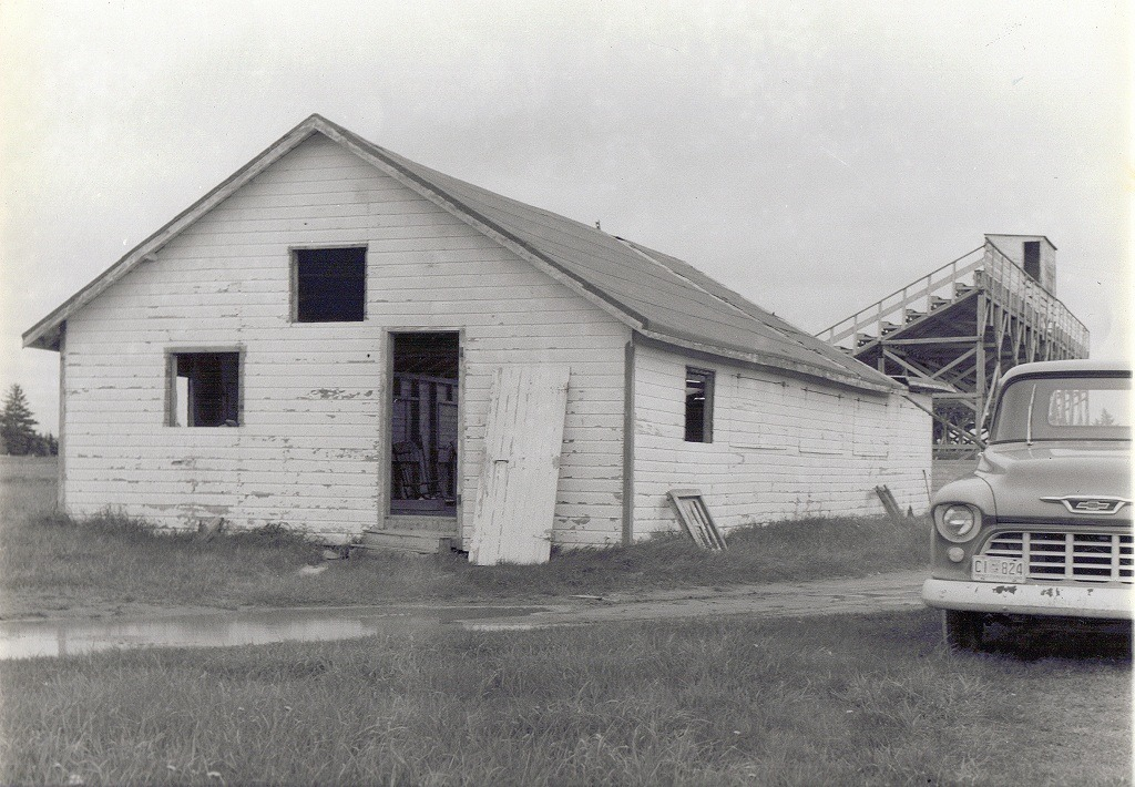 original building at Covehead Race Track