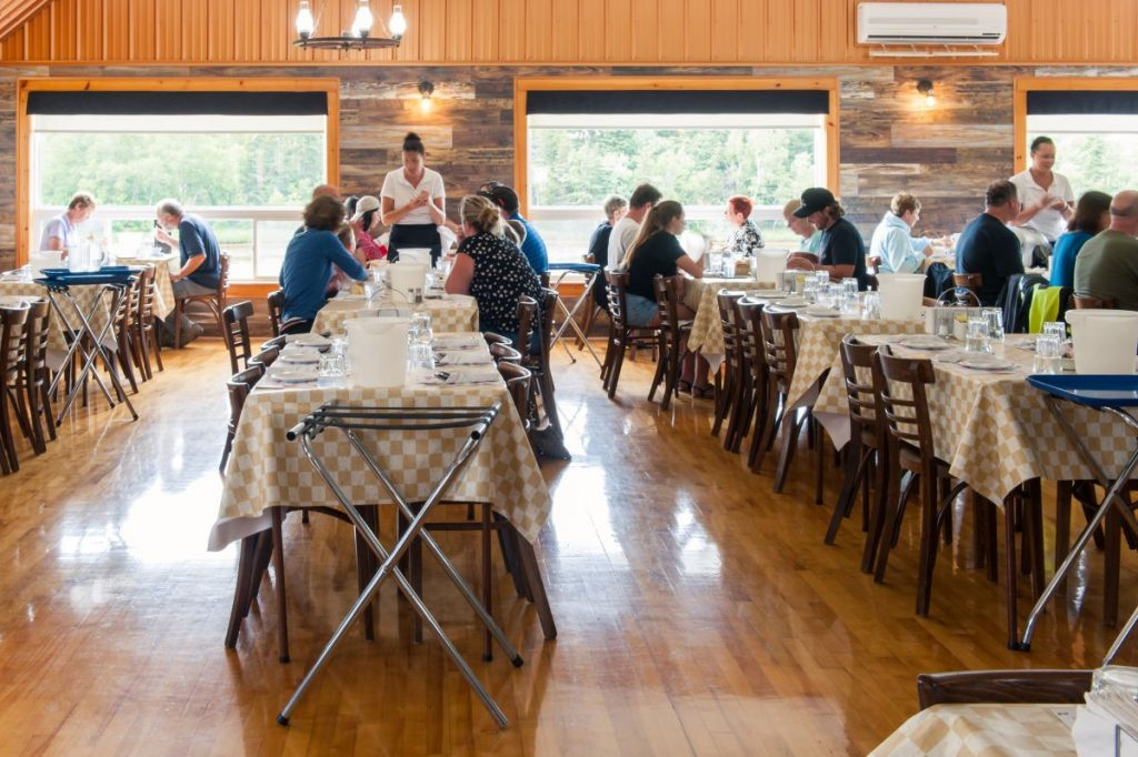 The Clyde Room at New Glasgow Lobster Suppers